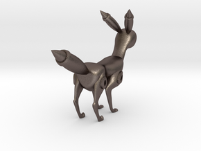 Umbreon by Krottyuser in Polished Bronzed Silver Steel: 1:12