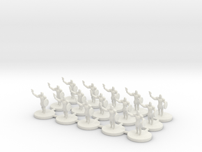 Game of Thrones Risk Pieces - Braavos in White Strong & Flexible