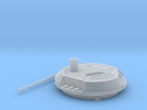HISS Turret Filler w/ Antenna in Smooth Fine Detail Plastic