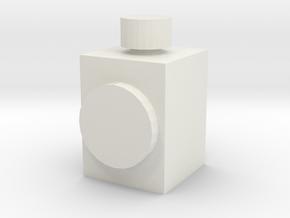 Head Lamp for OO / HO Mavis Quarry Diesel in White Natural Versatile Plastic