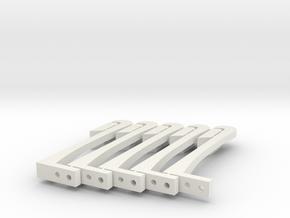 Set Of Child Proof Drawer Lock 004 in White Natural Versatile Plastic