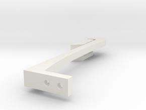 Child Proof Drawer Lock in White Natural Versatile Plastic
