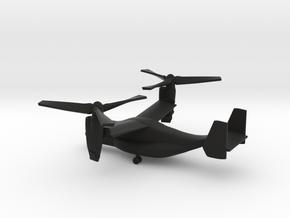 Bell Boeing V-22 Osprey in Black Natural Versatile Plastic: 1:285 - 6mm