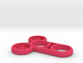 Meatspin Fidget Spinner (The Meatspinner) in Pink Processed Versatile Plastic