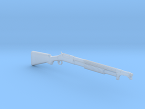 M1897 Trench gun (1:18 scale) in Smooth Fine Detail Plastic: 1:18