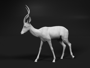 Impala 1:20 Walking Male in White Natural Versatile Plastic