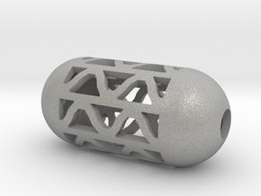 DRAW pendant - tubular waves type 4 in Aluminum