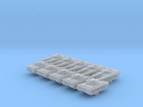 1/700 Russian Object 430 Main Battle Tank x10 in Smoothest Fine Detail Plastic