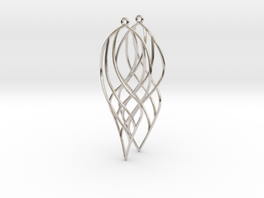 Helix Waves in Rhodium Plated Brass