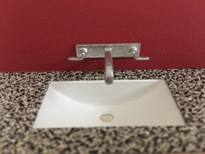 1:12 Tap wall mounted in White Processed Versatile Plastic