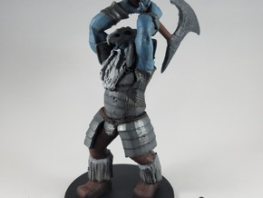 Harshnag the Good Frost Giant in Black Natural Versatile Plastic