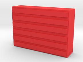 Otari MX-5050BII Replacement Record Button in Red Processed Versatile Plastic