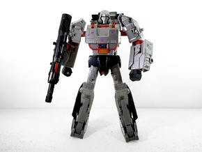CW Leader Megatron Calves in White Processed Versatile Plastic