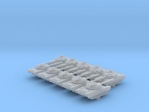 1/700 Russian Object 187 Main Battle Tank x10 in Smoothest Fine Detail Plastic