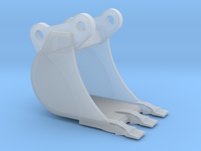 914 3 Tooth Paddle in Smooth Fine Detail Plastic