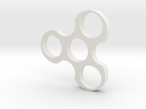 Spinner in White Natural Versatile Plastic