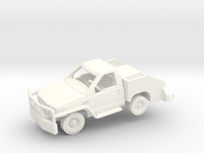 1/144 F350 Bobtail Tow Truck (finished) in White Processed Versatile Plastic: 1:144