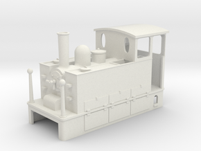 HOe Blanc Misseron CdN Tram loco in White Strong & Flexible