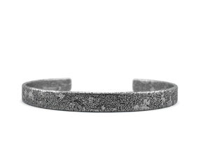 Corrosion -  Size 8.50 Bracelet in Polished Silver: Extra Large