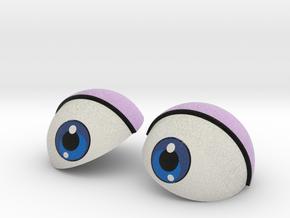 Big Eyes 003 in Full Color Sandstone