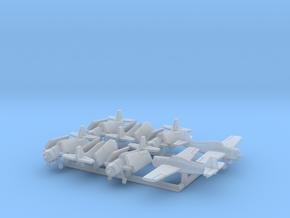 F4F-4 w/Gear x8 (FUD) in Smooth Fine Detail Plastic: 1:500