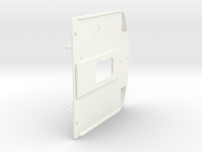 Kopwand ABdK 450 in White Processed Versatile Plastic