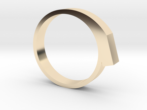 Staccato Ring in 14k Gold Plated: 6 / 51.5