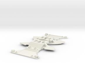 SUPPORT AVANT Mc Laren 12C in White Strong & Flexible