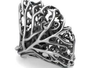 Dangerous Heavy - Sterling Silver Ring in Polished Silver: 7 / 54