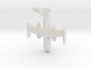 1:285 Dornier 31 in White Natural Versatile Plastic