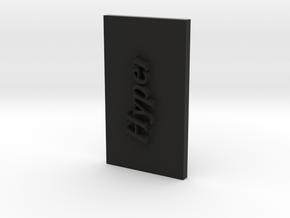 Working Paintball Reciever PART No1-Hyper in Black Natural Versatile Plastic