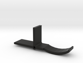 Working Paintball Trigger No1-Hyper in Black Natural Versatile Plastic