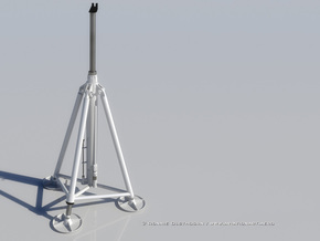 1/32 Aircraft Tripod Jack in Smooth Fine Detail Plastic
