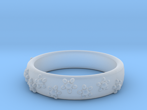 Flower Band in Smoothest Fine Detail Plastic