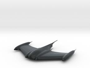 1/350 Naboo Stealth Ship in Black Hi-Def Acrylate