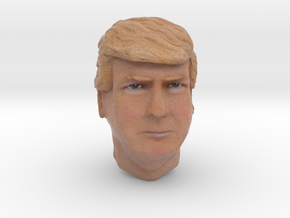 Trump head in Full Color Sandstone