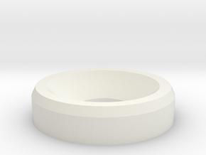 Washer in White Natural Versatile Plastic
