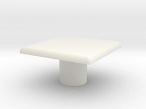 Table, Ara, Square (Space: 1999), 1/30 in White Strong & Flexible