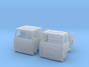 2 Replacement Cabs For Scania 140 TT scale in Smooth Fine Detail Plastic