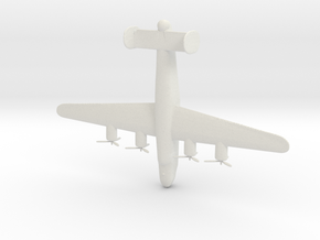 1:285 B-24 Liberator  in White Natural Versatile Plastic