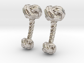 Little Dragon, Cufflinks. Pure, Strong. in Platinum