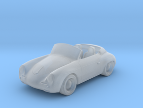 Porsche 356   1:87  HO in Smooth Fine Detail Plastic