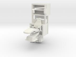 Medical Center Set C, Season 1 (Space: 1999), 1/30 in White Natural Versatile Plastic