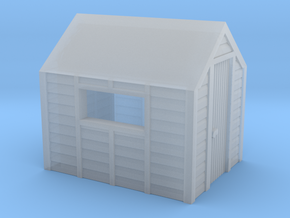 N Gauge Garden Shed in Smooth Fine Detail Plastic