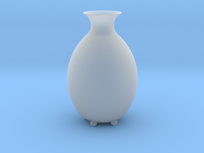"Vase ""Bud"" in Smooth Fine Detail Plastic"