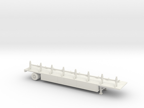 turbo tub load trailer   in White Natural Versatile Plastic