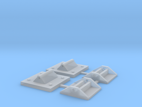 Transfer Bridge Hinge - DL&W Style in Smoothest Fine Detail Plastic