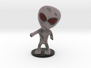 Little Alien Zombie in Full Color Sandstone