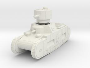 1/144 Sturmpanzerwagen Oberschleisen in White Natural Versatile Plastic