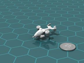 Terran Ground Attack VTOL in White Strong & Flexible